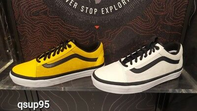 5f6ed66ea1bd Vans Vault x The North Face Old Skool MTE White Yellow Size 7-13 Brand