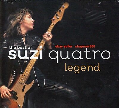 The Best Of Suzi Quatro Legend New Sealed CD 2017 Wild One 48 Crash Can The Can