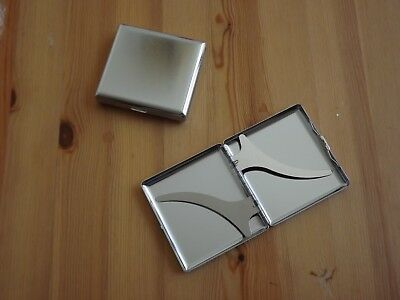 Polished Metal Double Sided King & 100's Cigarette Case