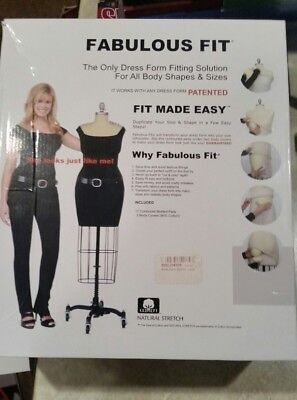 Fabulous fit the only dress form fitting solution medium