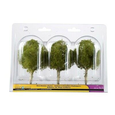 "NEW Woodland Scenics Scene-A-Rama Large Deciduous (3pack) (4"") SP4149"
