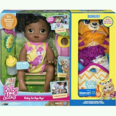 Baby Alive Doll With Accessories