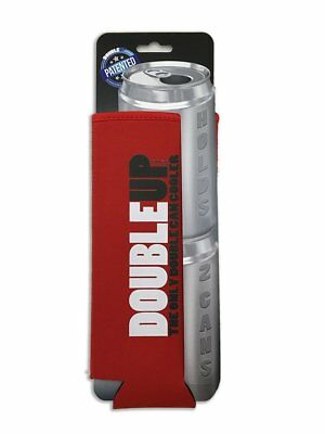 Double Can Cooler Red