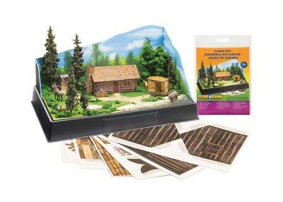 NEW Woodland Scenics Scene-A-Rama Cabin Kit SP4239