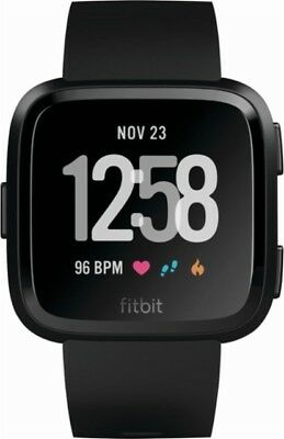 Brand New Sealed Fitbit Ionic Smart Watch - Charcoal Gray / Orange Blue / Silver