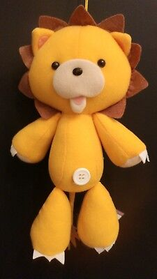 """Bleach: Kon The Lion Squeaky 8"""" Anime Plush New With Tag"""