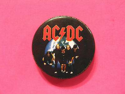 "Ac/dc New Official 2004 Button Badge Pin Uk Import ""group"""