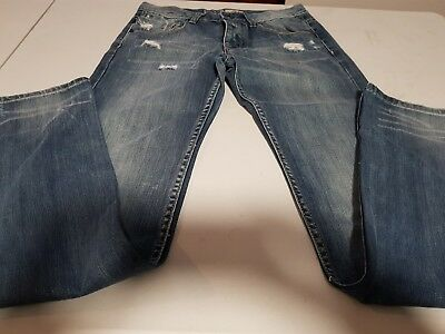 Mens Industries Denim Jeans, Size 28 (Like New)