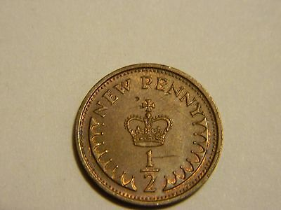 1978 Great Britain 1/2 Penny----Lot #3081