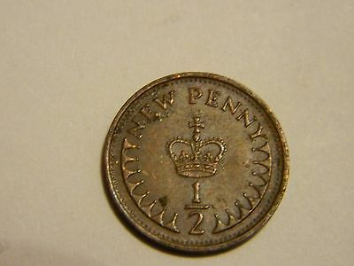 1976 Great Britain 1/2 Penny----Lot #3082