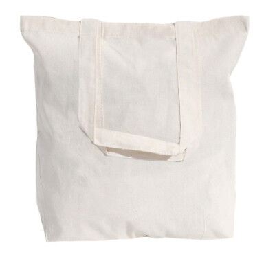 50 Wholesale Natural Cotton Tote Bags - Choice of 7 sizes
