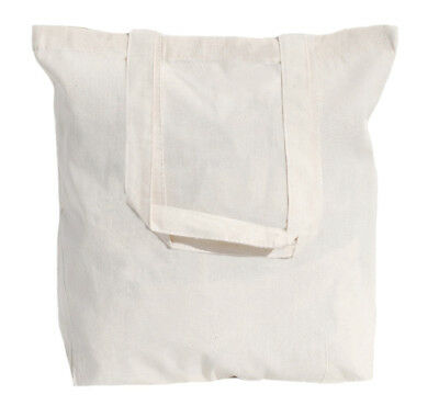 Wholesale Lot of 50 Natural Cotton Tote Bags - Choice of 6 sizes