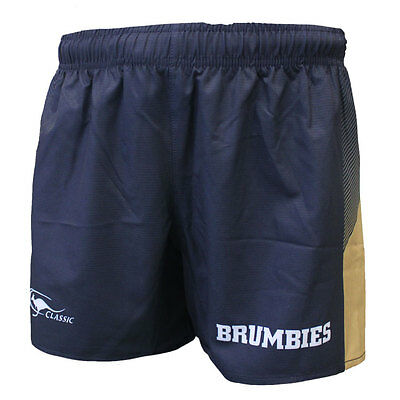 ACT Brumbies 2017 Onfield Player Shorts Sizes S - 3XL  **SALE PRICE**