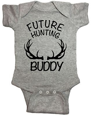Future Hunting Buddy Hunting Infant Baby One Piece