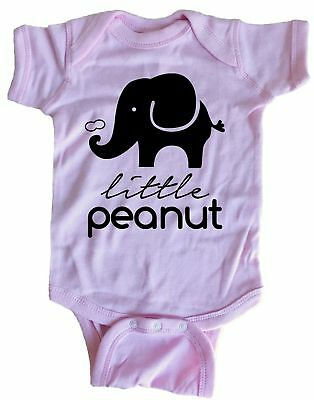 Little Peanut Elephant Infant Baby One Piece