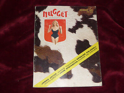 Nugget Magazine / November 1955 / Vol. 1 No. 1 / Very Rare Matt Baker Art Inside