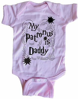 My Patronus Is Daddy Infant Baby One Piece