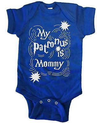 My Patronus Is Mommy Infant Baby One Piece