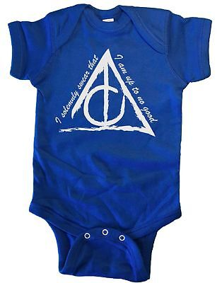 I Solemnly Swear That I Am Up To No Good HP Infant Baby One Piece