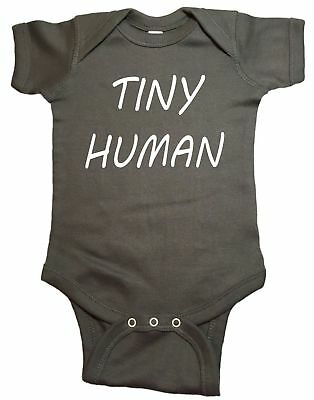 Tiny Human Infant Baby One Piece