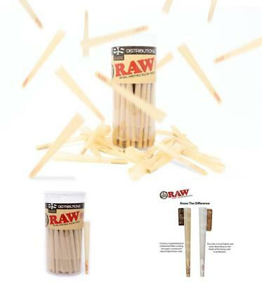 RAW Classic King Size Pure Hemp PreRolled Cones With Filter 100 Pack