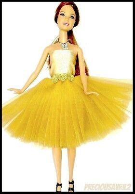 Barbie Doll Clothes TOP QUALITY Dress/Wedding/Party/Evening Dress/Clothes