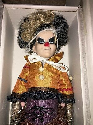 "Tonner Giggles Sinister Circus Re-Imagination 12"" Collector Doll ~ MIB ~"