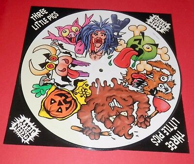 Green Jelly -- Three little pigs   -- Maxi /  Picture Vinyl