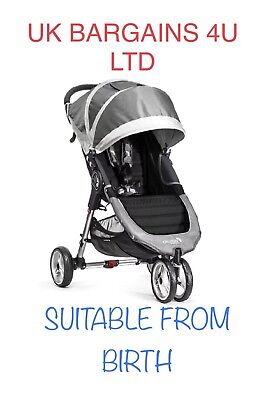 Baby Jogger City Mini (Steel Grey) One Handed Fold! UNISEX RRP £299.99