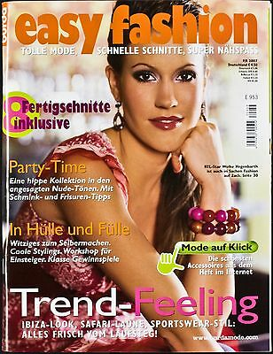 Burda Easy Fashion F/S 2007 E953