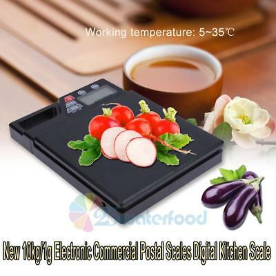10kg/1g Digital LCD Electronic Kitchen Scale Food Diet Weighing Postal Scale