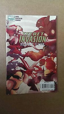 SECRET INVASION: FRONT LINE #5  MARVEL COMICS  1st PRINT