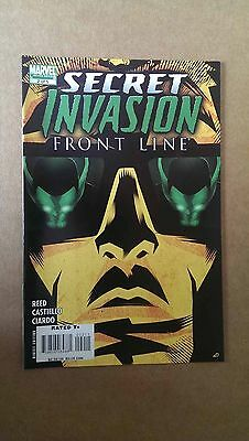 SECRET INVASION: FRONT LINE #2  MARVEL COMICS  1st PRINT