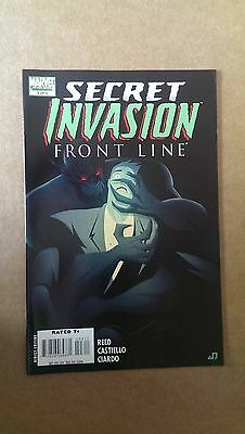 SECRET INVASION: FRONT LINE #3  MARVEL COMICS  1st PRINT