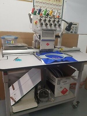 Melco Emt 10 T Embroidery Machine