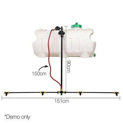 Weed Sprayer Tank Boom Sprayer Exclusive Adjustable Spray Boom Easy Installation