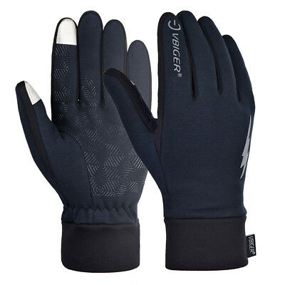 Mens Winter Warm Gloves Touch Screen Gloves Sport Driving Running Biking Gloves