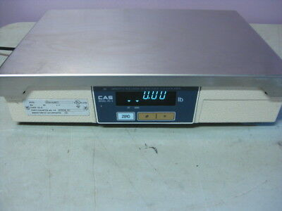 CAS PD-II POS Scale Dual Display, 60 lb Capacity, Point of Sale Interface