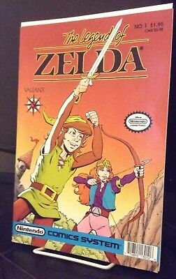 THE LEGEND OF ZELDA #1 Valiant Nintendo 1990 $1.95 first print SOLID COPY!!
