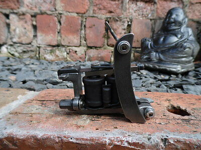Pro Hand Built Tattoo Machine Power Liner Bull Dog Style Frame Hand Wound Coils