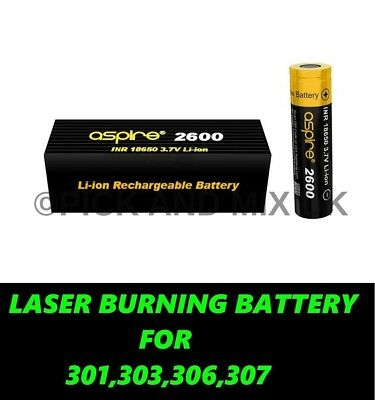 Laser Burning Battery For 301,303,306.307
