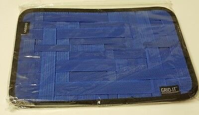 "Cocoon CPG10BL GRID-IT Blue  8"" x 12"" Organizer New"