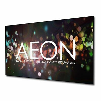 Elite Screens Aeon, 92-inch 16:9, 4K Home Theater Fixed Frame EDGE FREE Screen,