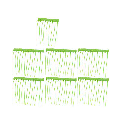 100pcs 230mm Length Nylon Self-Locking Nylon Label Cable Tie Zip Grass-green