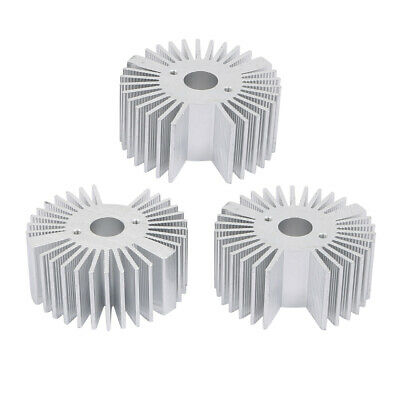 NA 3pcs Aluminum Heat Diffuser Heat Sink Cooling fin 107mmx35mmx15mm for LED lamp