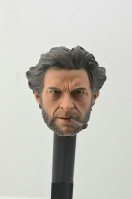 ELEVEN 1/6 Wolverine Head Sculpt LOGAN For Hot Toys Phicen Muscular  IN STOCK