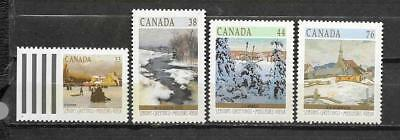 pk31527:Stamps-Canada #1256-1259 Christmas Set - Mint Never Hinged