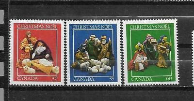 pk31516:Stamps-Canada #973-975 Christmas Set - Mint Never Hinged