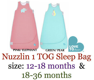 Nuzzlin Love to Dream 1 TOG Autumn / Spring Sleep Bag