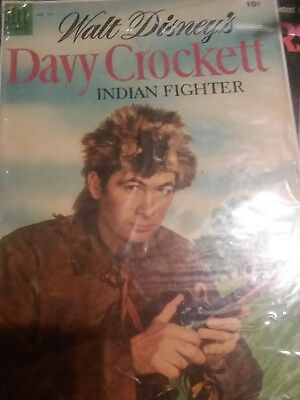 Four Color #631 - Walt Disney's Davy Crockett Indian Fighter (1955, Dell)